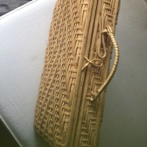 Wooden Champagne Purse Case